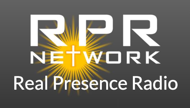 Real Presence Radio logo